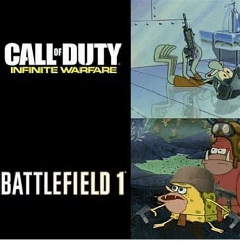 Meme Warfare - call duty infinite warfare battlefield 1 dank meme on sizzle