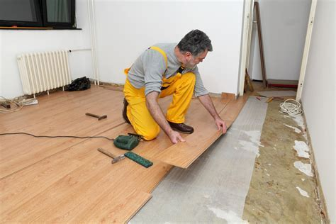 Installing Laminate Flooring On A Concrete Mortar Bed