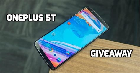 Mobile Home Sweepstakes - giveaway win a oneplus 5t mobile tech guru