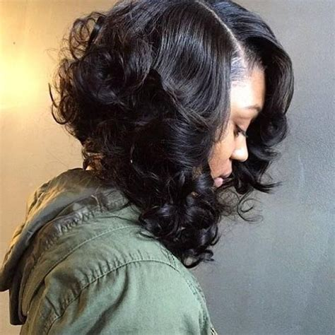 15 photo of curly bob hairstyles for black - Curly Bob Hairstyles For Black