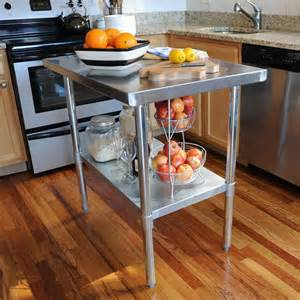 Steel Kitchen Table Effective Stainless Steel Kitchen Tables For Commercial Kitchen Mykitcheninterior