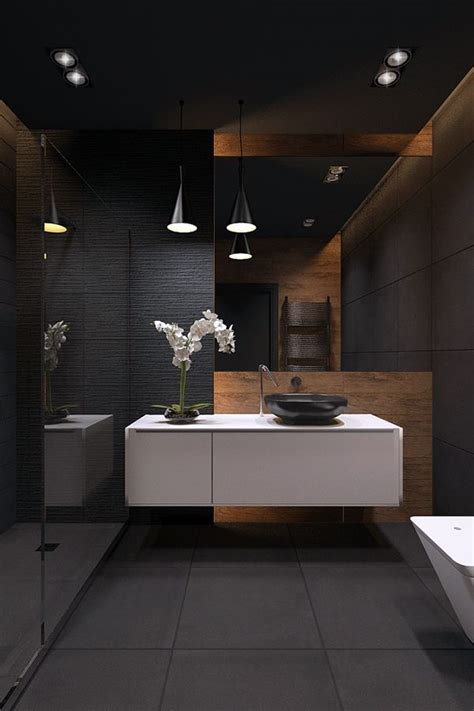 contemporary and elegant bathroom interior design of elegant bathrooms with wood that will make a statement