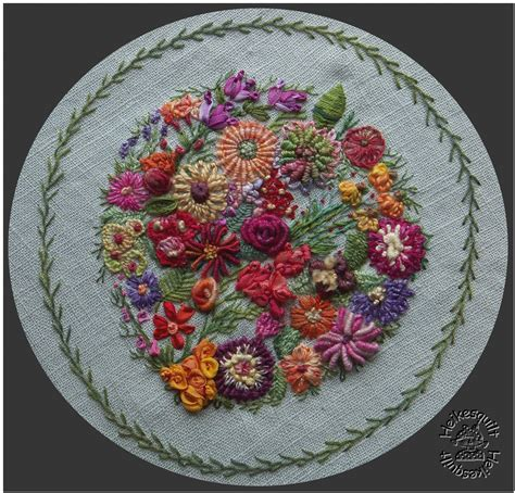 Handmade Embroidery Design - free stitched embroidery designs embroidery