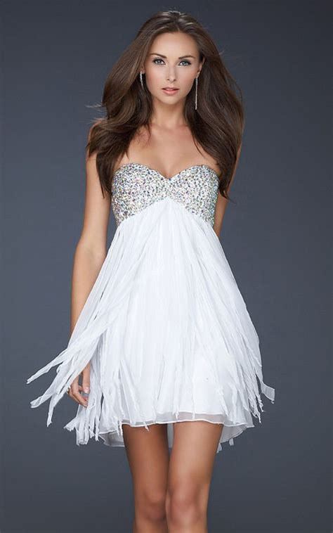 white cocktail dress white strapless sequin top cocktail dress