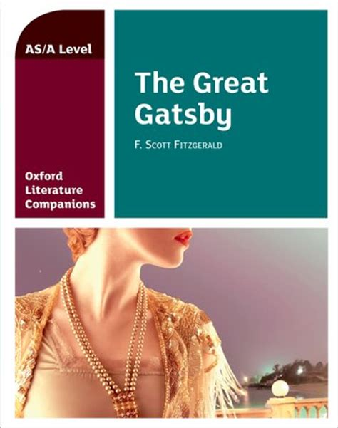 oxford literature companions the 0199128782 oxford literature companions the great gatsby oxford university press