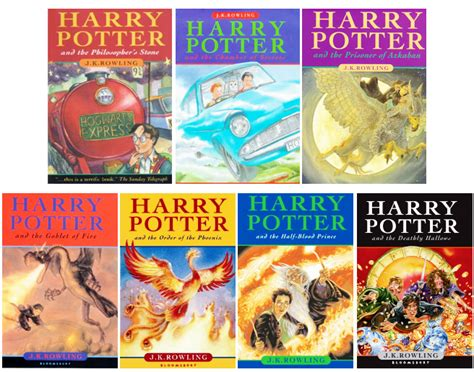 the of harry potter books retrospective of harry potter book covers potter talk