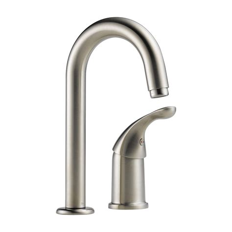 Waterfall Faucet Canada by Waterfall Single Handle Bar Prep Faucet In Stainless 1903