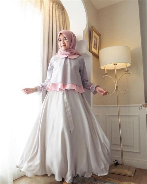Model Baju Muslim Gamis Terbaru Dan Modern Tk1 Coco 1 25 model gamis terbaru premium modis dan modern