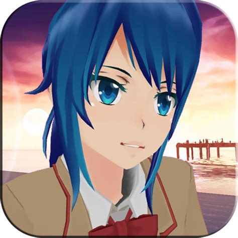 sakura gadis anime kawaii run  aplikasi android