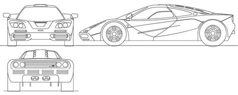 mclaren f1 drawing car mclaren f1 the photo thumbnail image of figure