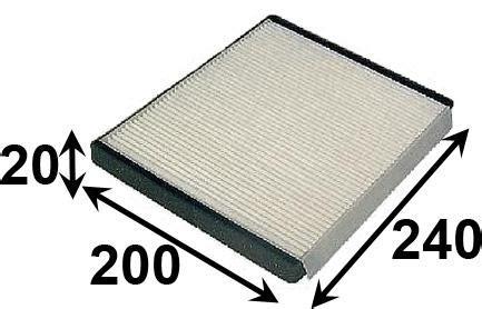 Filter Cabin Ac Hyundai H 1 ac11163 cabin air filter ac delco acc72 fsa ca28160