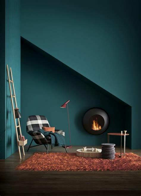Farben Die Zu Petrol Passen by Wandfarbe Petrol 56 Ideen F 252 R Mehr Farbe Im Interieur