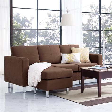 small spaces configurable sectional sofa dorel living small spaces configurable sectional sofa