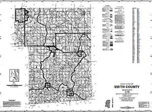 map of smith county smith county mississippi maps