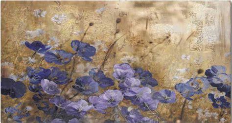 fiori dipinto quadro modello fiori di violetta complementi e
