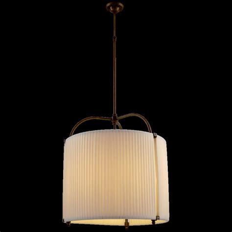 illuminazione sospensione lada a sospensione nuku hiva in ottone a 1 luce in tessuto