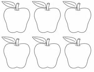 Apple Template Printable by 10 Apples Up On Top Preschool Activities A S Take