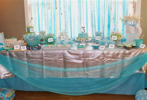 under the sea candy table mermaid party under the sea crafted birthday party