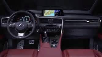 lexus suv 2016 interior 2016 lexus rx 350 f sport interior design automototv