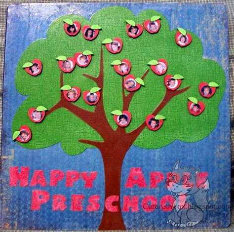 teacher gift apple tree magnet board