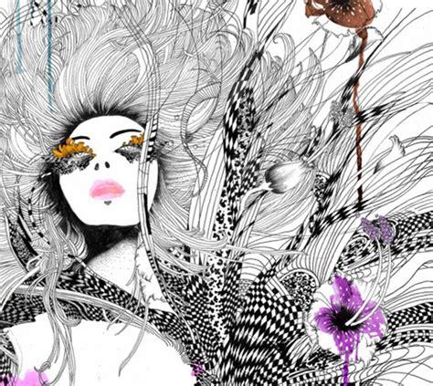 fashion illustration using ink these fashion illustrations are amazing i green