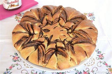 fiore di brioche alla nutella 187 fiore di brioche alla nutella ricetta fiore di brioche