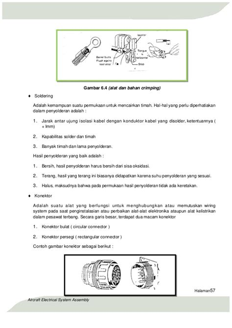 Spon Solder Untuk Membersihkan Sisa Timah Pada Ujung Soldering Iron aircraft electrical system assembly