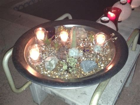 glass bead pit pit with glass nights