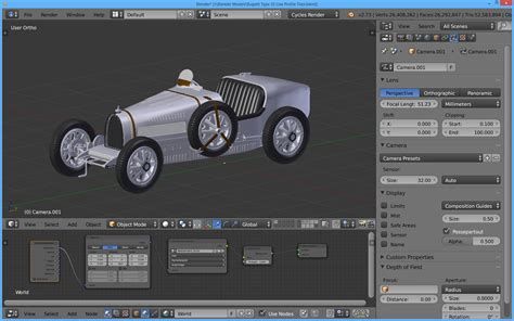 blender 3d models s the tinkers workshop blender 3d bugatti type 35 model is