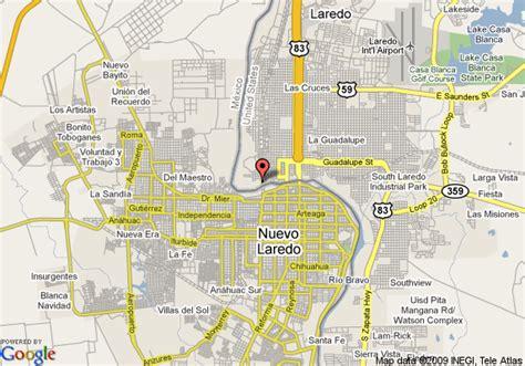 laredo texas on map map of inn express nuevo laredo mexico nuevo laredo