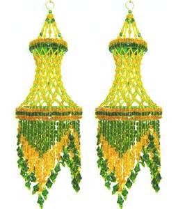 Acrylic Chandeliers Ibnelite Handicraft Homemade Ceiling Jhumar 2 Pcs Buy