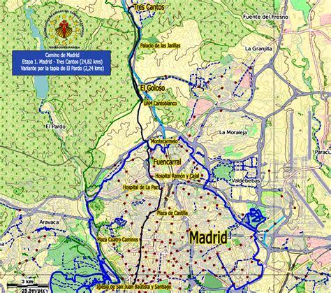 camino de el camino de santiago camino de madrid madrid a tres
