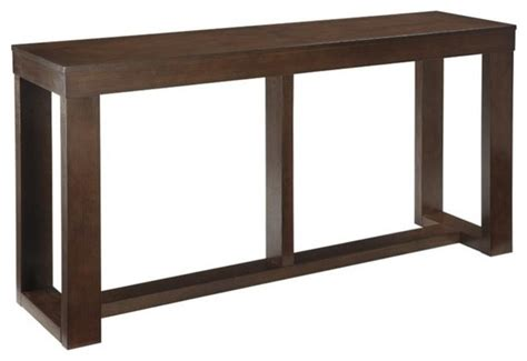 transitional console table watson console table brown transitional