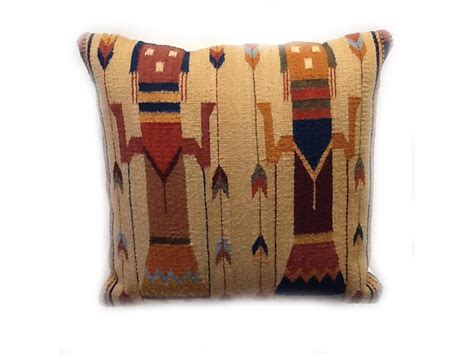 Zapotec Pillows by Yei Pillow Zapotec Weaving From Oaxaca Mexico 19 Quot X 19 Quot