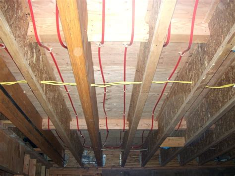 heated floor underlayment installing wood flooring