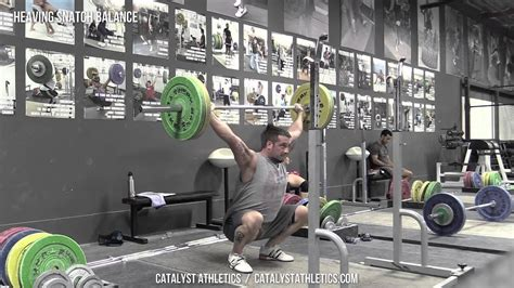 heaving snatch balance exercise library demo