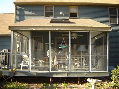 dekorative sieb paneele porch to sunroom patio enclosures inc provides five