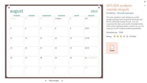 Insert Calendar In Powerpoint