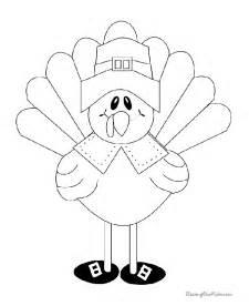 turkey coloring print 006
