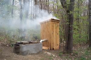 an outhouse smoker the ultimate smokehouse