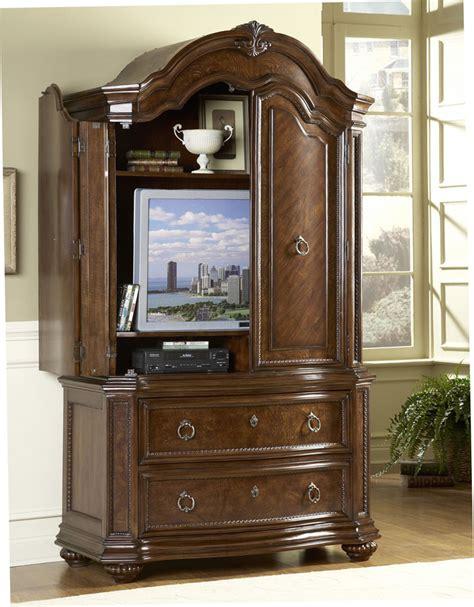 bedroom armoire tv homelegance prenzo armoire 1390 7