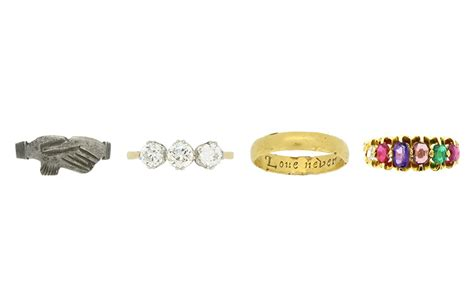 a history of engagement and wedding rings kimberfire