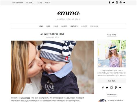blog themes uk blog beauty wordpress themes for your photography blog