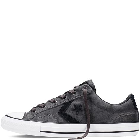 Converse Cons Player Grey converse mens shoes cons player pro grey