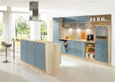 alno kitchens shades of blue kitchen