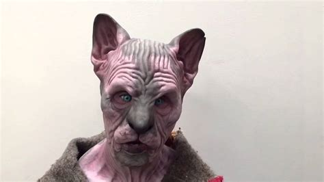 Spinx Mask sphynx fit silicone mask www immortalmasks