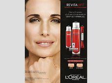 April 2011 Fashion Magazine Celebrity Endorsement ... L'oreal Revitalift Products