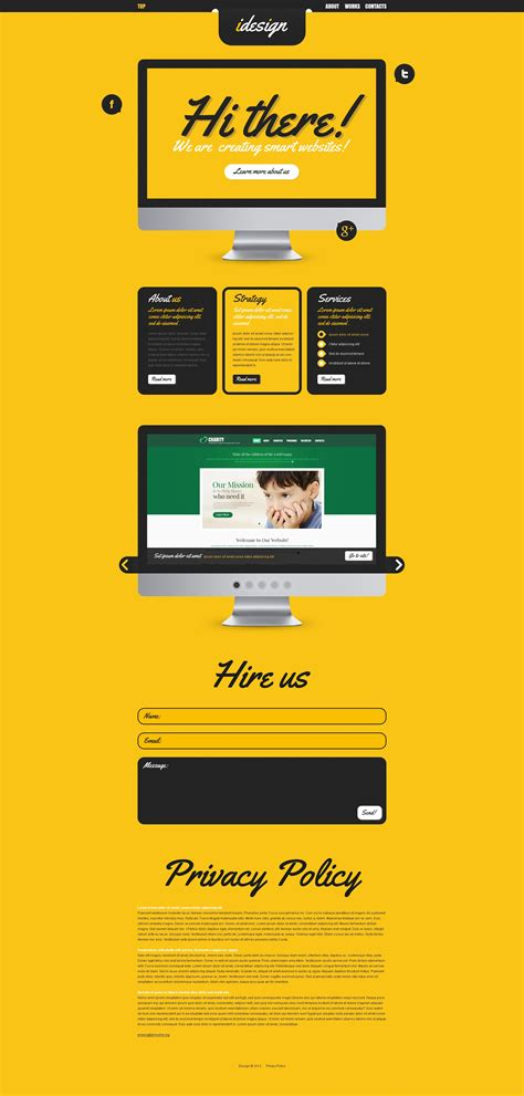 design studio templates design studio website template 39294