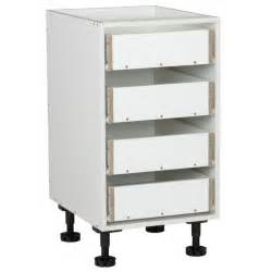 kaboodle 450mm 4 drawer base cabinet bunnings warehouse