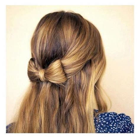 hairstyles cute bow hairstyle with bow 2017 2018 best cars reviews